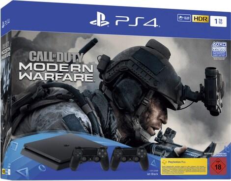 Sony Playstation 4 Slim 1tb Call Of Duty Modern Warfare 2 Controllers G2a Com