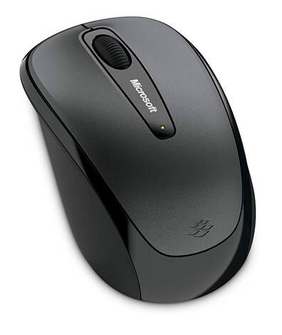 MICROSOFT Wireless Mobile Mouse 3500 ( 2.4GHz,3 btn), White, Retail