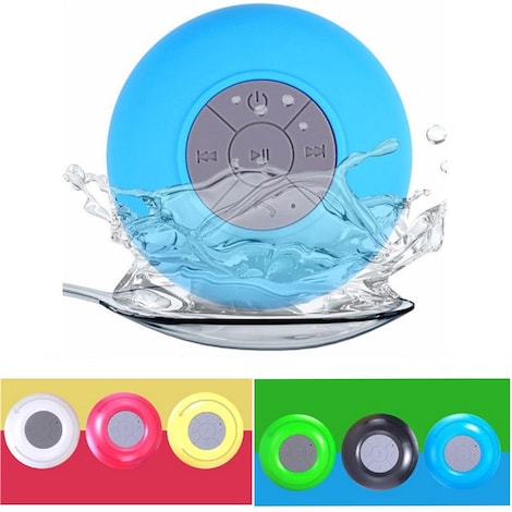 Mini Wireless Bluetooth Speaker Waterproof  Green