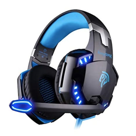 Headphone with Mic for PC Computer Game  - Comfortable LED 3 . 5mm Stereo Gaming LED Lighting
