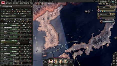 Hearts of Iron IV: Waking the Tiger Steam Key GLOBAL - screenshot - 7