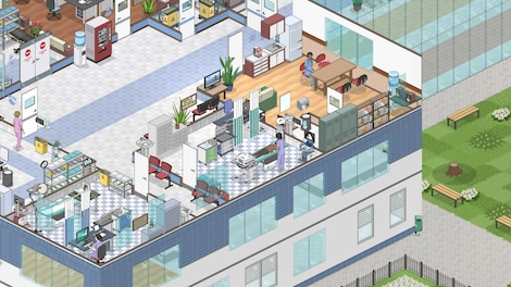 Project Hospital Steam Key GLOBAL - gameplay - 3