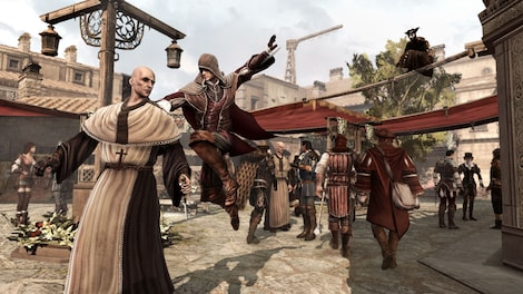 Assassin's Creed: Brotherhood - Deluxe Edition Uplay Key GLOBAL - gameplay - 14