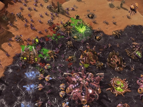 Starcraft 2: Wings of Liberty + Heart of the Swarm Blizzard Key GLOBAL