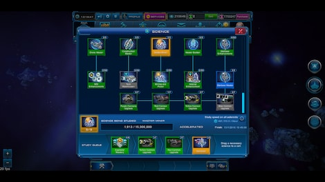 Astro Lords: Oort Cloud - MOBA: Two Stations 25 Key GLOBAL - screenshot - 15