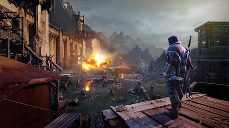 Middle-earth: Shadow of Mordor Game of the Year Edition PSN Key PS4 NORTH AMERICA - gameplay - 4