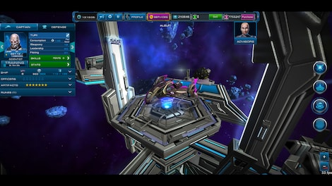 Astro Lords: Oort Cloud - MOBA: Two Stations 25 Key GLOBAL - screenshot - 11