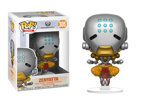 Funko Pop! Vinyl: Games - Overwatch - Zenyatta