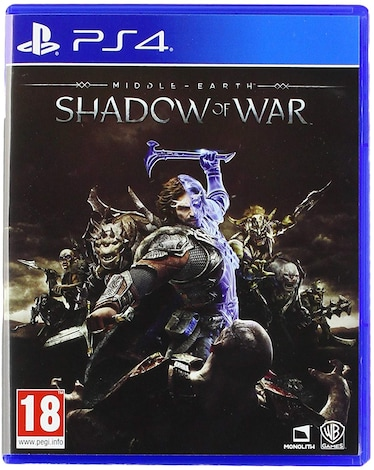 PS4 Middle Earth Shadow of War (ENG)