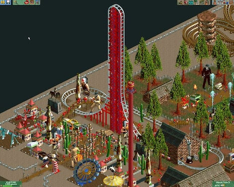 RollerCoaster Tycoon 2: Triple Thrill Pack Steam Key GLOBAL - gameplay - 5
