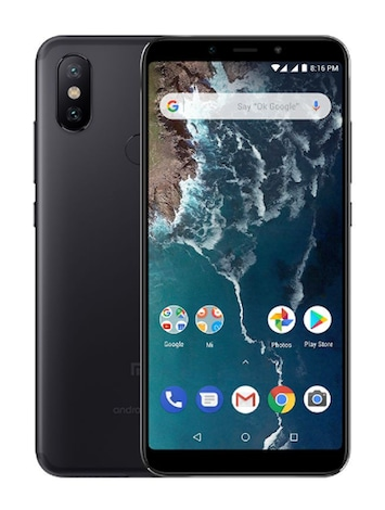 Xiaomi Mi A2 Black Android Internal & Removable 64GB Smartphone