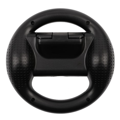 [REYTID] 2 Black Nintendo Switch Joy-Con Racing Steering Wheel Controller Game Holder Pair Twin