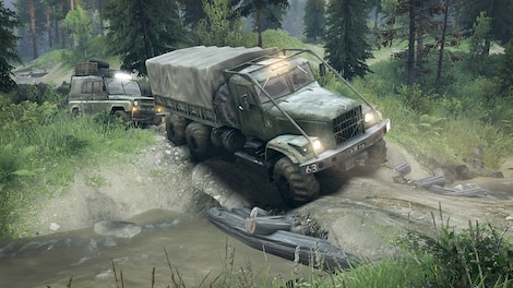 Spintires Steam Key GLOBAL - gameplay - 7