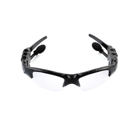 Bluetooth Sports Sunglasses Headphones Black - photo do producto 3