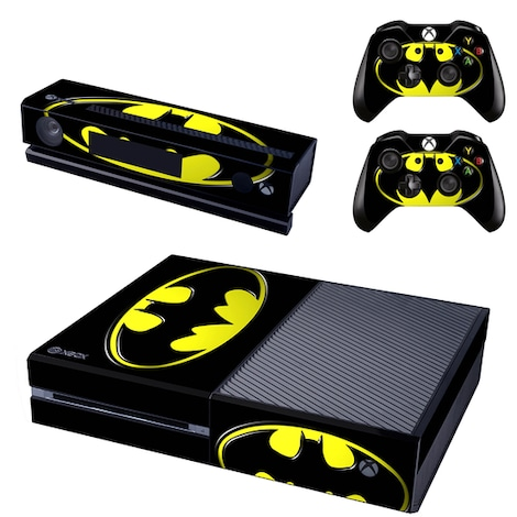 [REYTID] Xbox One Console Skin / Sticker + 2 x Controller Decals & Kinect Wrap - Batman Multi-colour XBOX ONE
