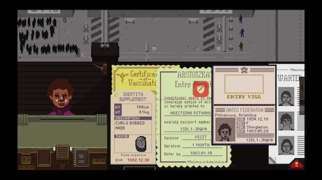 Papers, Please Steam Key GLOBAL - gameplay - 3
