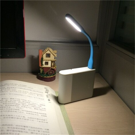 FFFAS Mini Flexible USB Led USB Light Table Lamp Gadgets usb hand lamp For Power bank PC laptop notebook