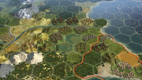 Sid Meier's Civilization V Steam Key GLOBAL - gameplay - 7