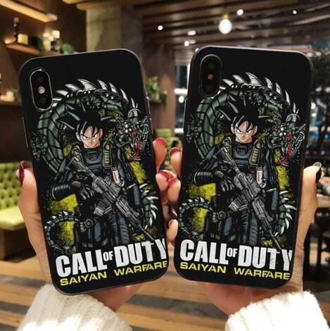 Phone Case Dragon Ball Z Super DBZ Goku  Multi-Color Plastic iPhone 6