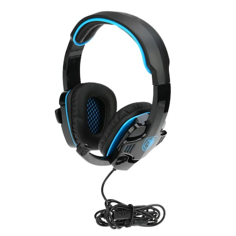 SADES SA-708GT 3.5mm Gaming Headphone Black
