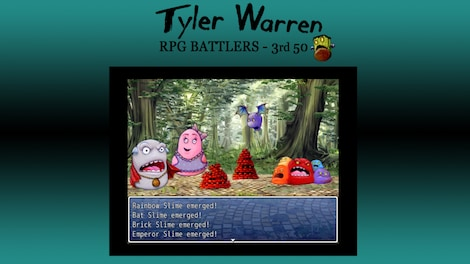 RPG Maker: Tyler Warren's 3rd 50 Battler Pack Key Steam GLOBAL