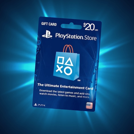PlayStation Network Gift Card 20 USD PSN UNITED STATES - screenshot - 3