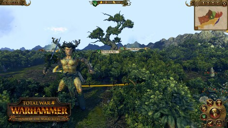 Total War: WARHAMMER - The Realm of the Wood Elves Key Steam GLOBAL - screenshot - 4