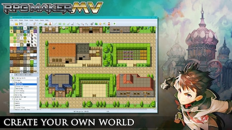 RPG Maker MV GLOBAL Key Steam - Screenshot - 7