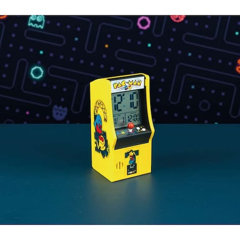 Arcade Machine Alarm Clock - Pac-Man