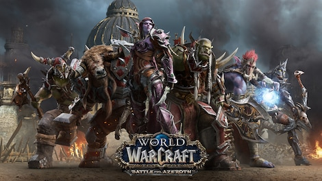 World of Warcraft: Battle for Azeroth Blizzard Key EUROPE - gameplay - 15
