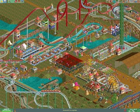 RollerCoaster Tycoon 2: Triple Thrill Pack Steam Key GLOBAL - gameplay - 16