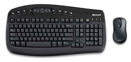 Microsoft Wireless Optical Desktop 1000, Eng-Brit layout