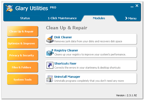 Glary Utilities Pro 5 СD 1 Device GLOBAL Key PC