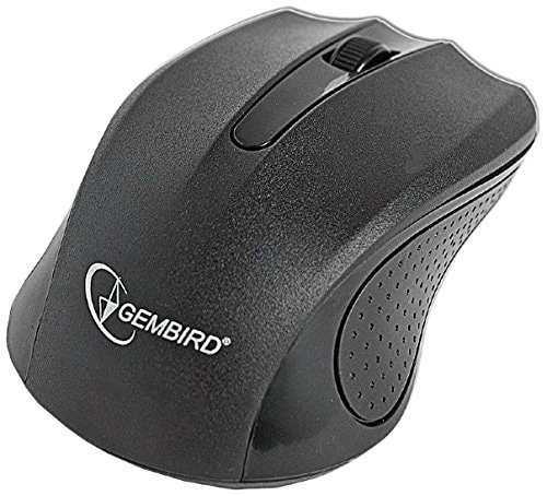 Gembird MUSW-101 Wireless optical mouse, black
