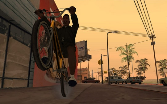 Grand Theft Auto San Andreas Steam Key GLOBAL - gameplay - 2