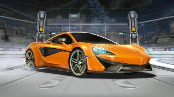 Rocket League® - McLaren 570S Car Pack Steam Gift GLOBAL