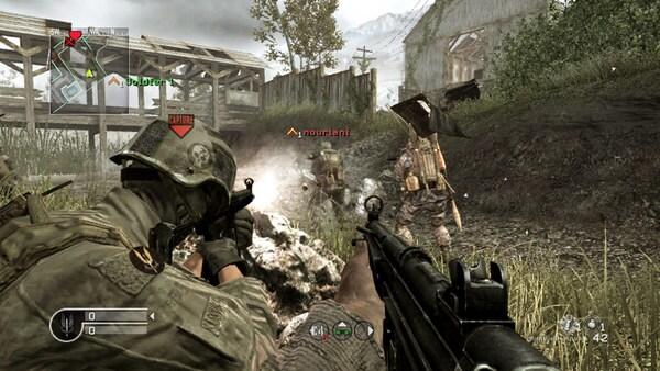 Call of Duty 4: Modern Warfare Steam Key GLOBAL - gameplay - 5