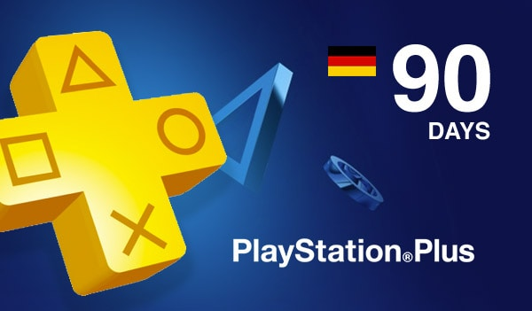 Playstation Plus CARD PSN GERMANY 90 Days