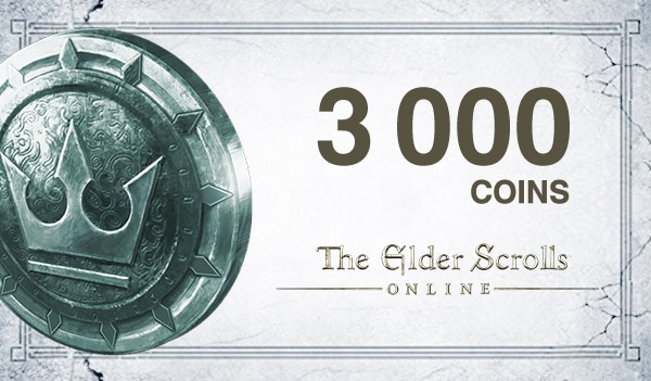 The Elder Scrolls Online Crown Pack The Elder Scrolls Online GLOBAL 3 000 Coins Key
