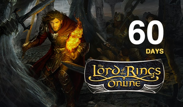 Lord of the Rings Online Time Card Prepaid Turbine EUROPE 60 Days