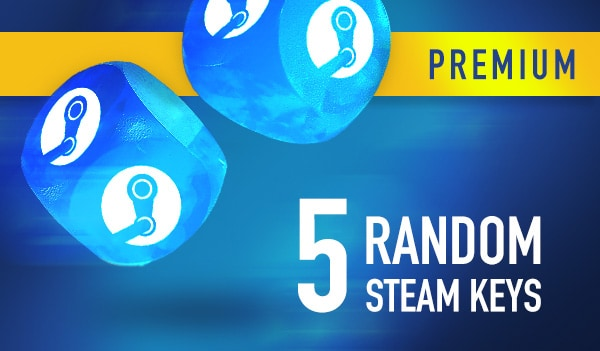 Random PREMIUM Steam Key GLOBAL 5 Keys