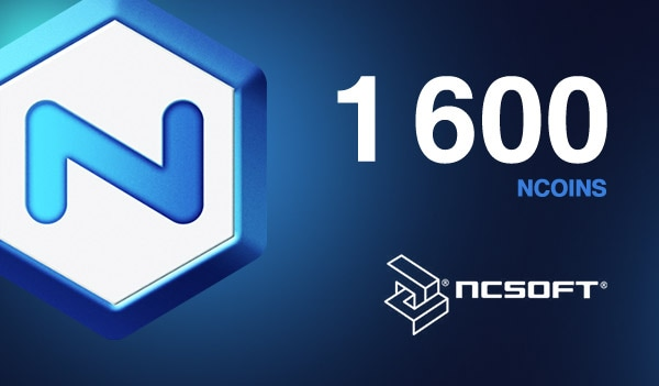 1600 NCoins NCSoft EUROPE Code