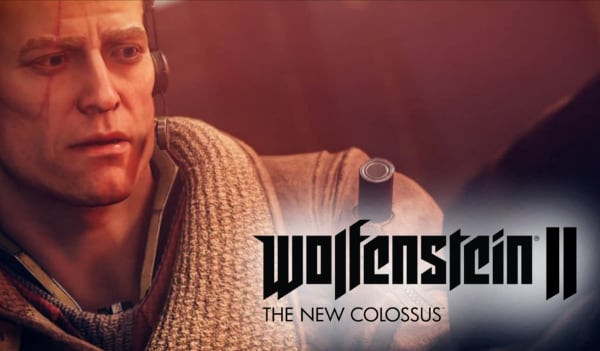 Wolfenstein II: The New Colossus Steam Key GLOBAL - gameplay - 3