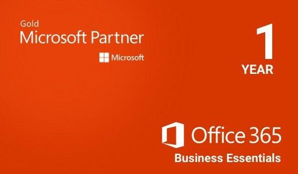 Microsoft Office 365 Business Essentials Microsoft Key EUROPE 1 Year