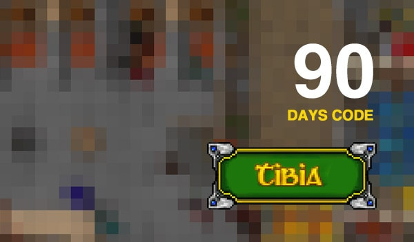 Tibia PACC Premium Time 90 Days GLOBAL Cipsoft Code