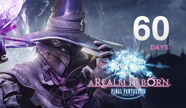 Final Fantasy XIV: A Realm Reborn Time Card 60 Days EUROPE Final Fantasy