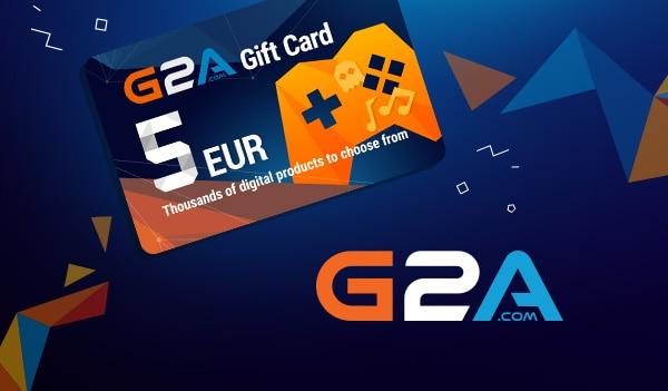 G2A Gift Card 5 EUR GLOBAL