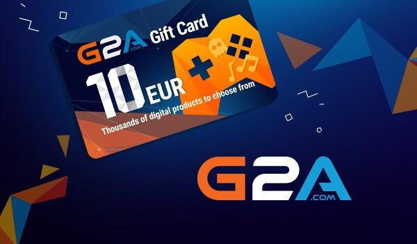 G2A Gift Card G2A.COM Key GLOBAL 10 EUR
