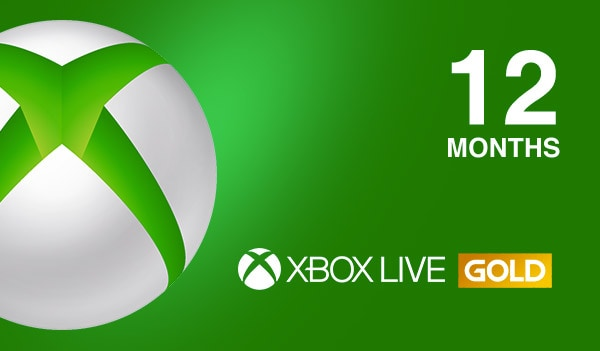 Xbox Live GOLD Subscription Card 12 Months NORTH AMERICA XBOX LIVE