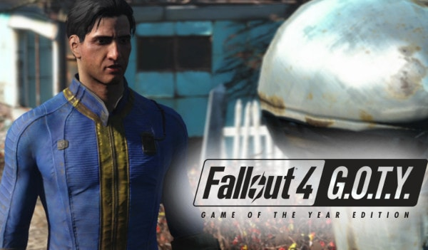 Fallout 4: Game of the Year Edition Steam Key PC GLOBAL - gameplay - 3